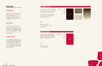 "An ""Identity Standards Manual"" page—for the graphic design branch of corporate identity design and branding."