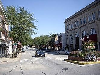 Glen Ellyn, Illinois - Glen Ellyn Main Street
