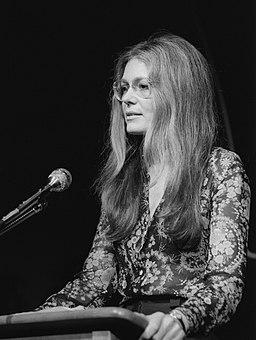 Gloria Steinem 1975