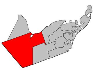 Bathurst Parish, New Brunswick Parish in New Brunswick, Canada