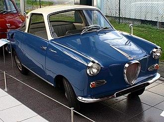 Glas - Goggomobil TS 250 Coupe.