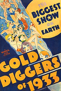 <i>Gold Diggers of 1933</i> 1933 film by Mervyn LeRoy, Busby Berkeley