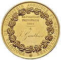 Gold Medal from the 1849 Paris Industry Exposition.jpg