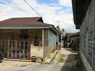New village - Gombak New Village.