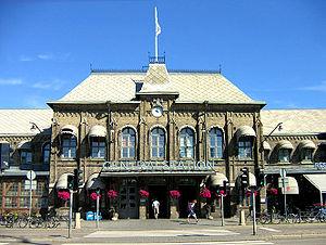Gothenburg Central Station - Gothenburg Central Station, the old part