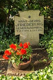 Grabmal Hans-Georg von Friedeburg