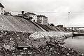 Gradnja obrežnega nasipa na levem bregu Drave v Mariboru 1956.jpg