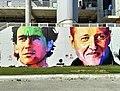 Graffiti de Ayrton Senna i Michael Schumacher.jpg