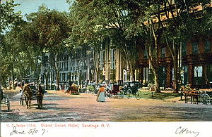 Grand Union Hotel (Saratoga Springs, New York) - From a 1907 post card