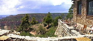 Grand Canyon Lodge - View of the Grand Canyon from the Lodge
