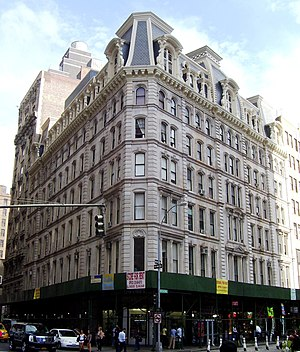 1868 in architecture - Grand Hotel (New York City)