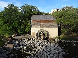 Grant's Old Mill on Sturgeon Creek.
