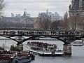 Grappes de touristes sur la Seine, Paris 2016.jpg