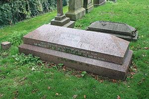 William Fettes Douglas - Grave of Sir William Fettes Douglas, Dean Cemetery