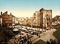 Gravensteen, Ghent, Belgium, 1890s.jpg