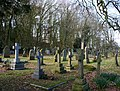 Graveyard of Holy Trinity Church, Bickerton - geograph.org.uk - 713081.jpg