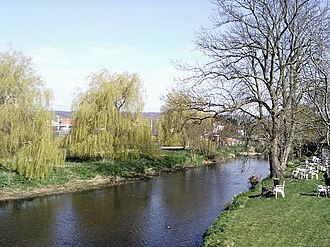Wye, Kent - The Great Stour at Wye