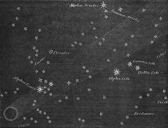 Great Comet of 1264 - Great comet of 1264