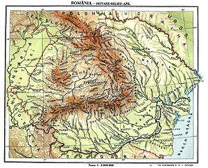 Dealurile și Podișurile Romaniei Wikipedia