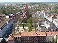 Greifswald St.-Jacobi-und-Rubenowplatz vom-Turm-des-Doms-St.-Nikolai-aus-gesehen April-2009 SL272425.JPG