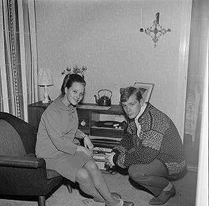 Grethe Kausland - Image: Grethe og Halvard Kausland (bilde 01)
