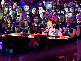 Greyson Chance op de We Day in 2010
