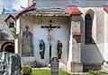 Griffen Untergreutschach 5 Pfarrkirche hl. Martin Kreuzigungsgruppe 26052017 8771.jpg