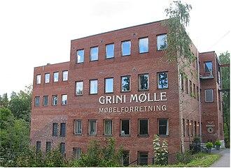 Grini - Grini mølle, the former mill