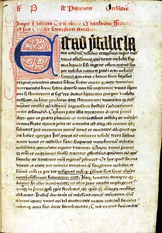 """Influence of Italian humanism on Chaucer - The last tale of Boccaccio's Decameron became Petrarch's  """"De Patientia Griseldis"""",  which later became Chaucer's  Clerk's Tale."""