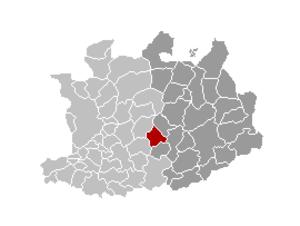 Grobbendonk - Image: Grobbendonk Locatie