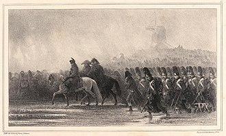Bonaparte prépare-t-il Napoléon ?  dans POLITIQUE 330px-Grognards_par_Raffet
