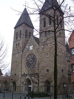 Gronau, North Rhine-Westphalia - Saint Anthony Church