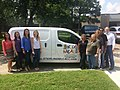 Group 1 Employees Pose with Donated Van.jpg