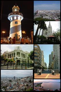 Guayaquil City in Guayas, Ecuador