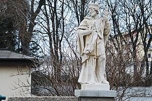 GuentherZ_2011-01-22_0049_Bruck_an_der_Leitha_Lagergasse_Statue_Johannes_Nepomuk.jpg