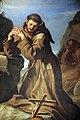 Guercino, san francesco che adora il crocifisso, 1645, 05.JPG