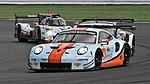Gulf Racing Porsche 911 RSR Luffield Silverstone 2018.jpg