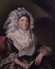 Portrait of Elizabeth Sewall, Mrs. Samuel Salisbury