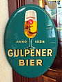 Gulpener Bier, metal advertising sign.JPG