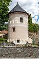 Gurk Domplatz SW-Wehrturm am Friedhof 04082019 6927.jpg