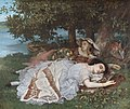 Gustave Courbet - Young Ladies by the River Seine - WGA05467.jpg
