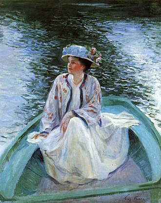 Guy Rose - Image: Guy Rose On the River