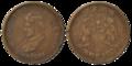 Gwalior - Half Anna - Jivajirao Shinde - 1999 BS Copper - Kolkata 2016-06-29 5359-5360.png