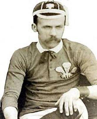 William Gwynn - William Gwynn wearing the Welsh strip
