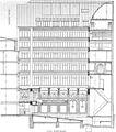 Hôtel Fémina in 'La Construction moderne' 1907 p473 (long section) – Google Books 2014.jpg