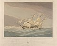 H.M.S. Maeander 44 Guns, in a Heavy Squall (Pacific July 9th 1850) RMG PY0902.jpg