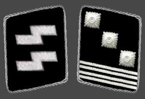 Hauptsturmführer - Image: HH SS Hauptsturmfuhrer Collar