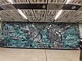 HK 港鐵 MTR 南港島線 South Island Line 利東邨站 Lei Tung Station January 2021 SS2 wall art 06.jpg