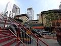 HK CWB 銅鑼灣 Causeway Bay 禮頓道 Leighton Road 奧運橋 Olympic Bridge stairs view St Paul's Convent School October 2019 SS2 01.jpg