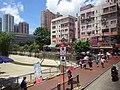 HK Yuen Long open Nullah 青山公路 Castle Peak Road July 2016 DSC Cheong Shing Path.jpg